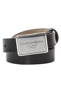 Кожаный ремень Dolce&Gabbana Children
