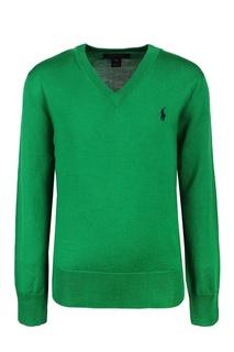 Шерстяной пуловер Ralph Lauren Children