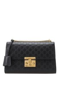Кожаная сумка Padlock Gucci