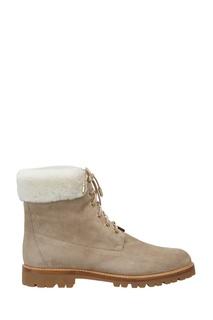 Замшевые ботинки The Heilbrunner Flat Aquazzura