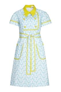 Хлопковое платье Delpozo