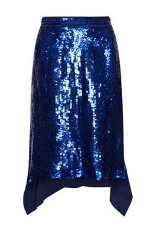 Шелковая юбка в пайетках Altuzarra