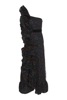 Асимметричное платье Gucci