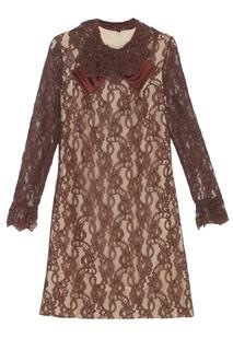 Кружевное платье (1970-е) Vintage No Names