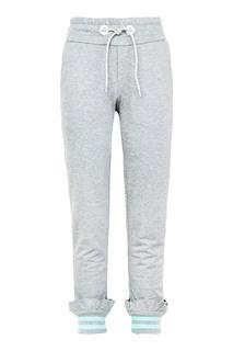 Хлопковые брюки Fendi Children