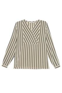 Блузка в полоску (1980-е) Giorgio Armani Vintage