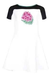 Хлопковое платье Dior Children