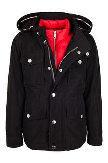 Комплект из куртки и пухового жилета Burberry Children