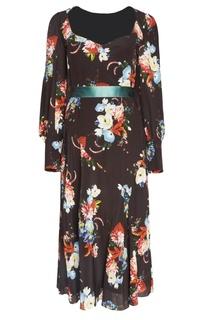 Шелковое платье Berdine Erdem