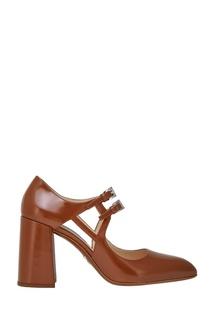 Кожаные туфли Prada