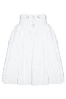Однотонная юбка Delpozo