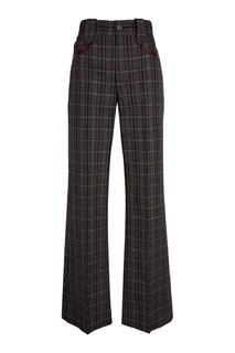 Серые шерстяные брюки Marc Jacobs