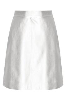 Юбка с металлизированным эффектом T Skirt