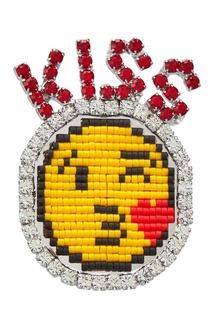 Брошь Kiss Shourouk