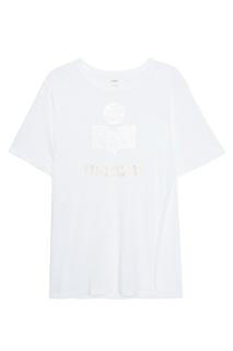 Льняная футболка Kuta Isabel Marant Etoile