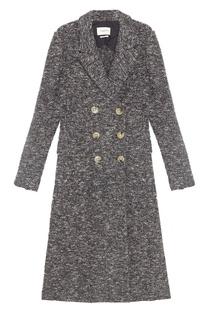 Меланжевое пальто Overton Isabel Marant Etoile