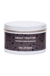 Свеча City of Stars, travel-size, 200 g Great Trotter