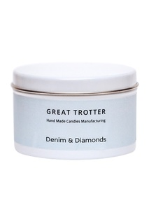 Свеча Denim&Diamonds, travel-size, 200 g Great Trotter