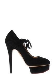 Замшевые туфли Ophelia Charlotte Olympia