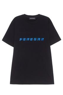Хлопковая футболка Peregar Subterranei