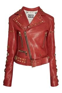 Кожаная куртка Fausto Puglisi