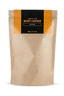Аргановый скраб Body_Coffee Orange, 150 g Huilargan