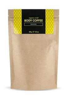 Аргановый скраб Body_Coffee Banana, 150 g Huilargan