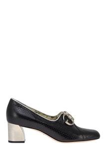 Кожаные туфли Gucci