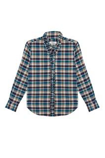 Хлопковая рубашка Awendy Isabel Marant Etoile