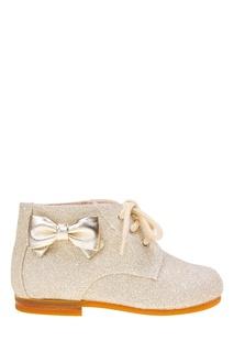 Ботинки с глиттером Il Gufo