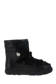 Кожаные ботинки New Fanny Moncler