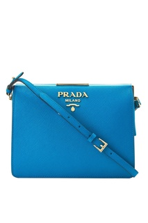 Кожаная сумка Light Frame Prada
