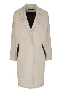 Пальто из шерсти и хлопка Freshblood