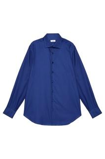Фактурная хлопковая рубашка Cesare Attolini