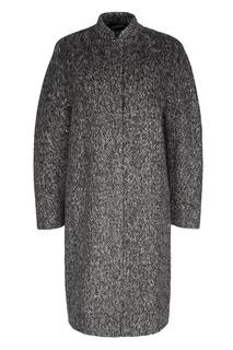 Пальто из шерсти и ангоры Freshblood
