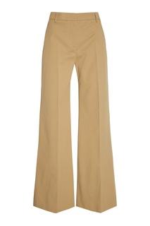 Широкие брюки из хлопка Burberry