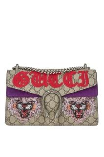 Сумка Dionysus с вышивкой пайетками Gucci