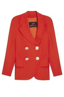 Красный костюм с брюками Gai Mattiolo Vintage