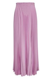 Шелковая плиссированная юбка Valentino