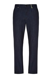 Темно-синие джинсы Canali