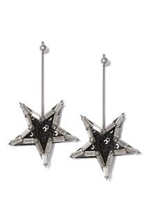 Серьги-звезды с кристаллами Herald Percy