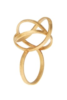Позолоченное кольцо-сфера Joidart Barcelona
