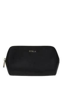 Черная косметичка Electra Furla