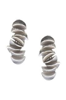 Серебряные серьги-гвоздики Joidart Barcelona