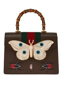 Сумка с перламутровым декором Gucci
