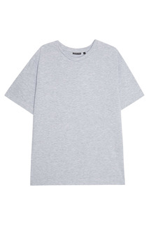 Серая меланжевая футболка Blank.Moscow