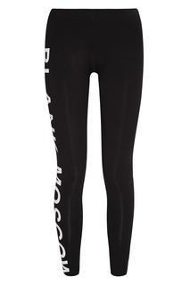 Трикотажные брюки с логотипом Blank.Moscow