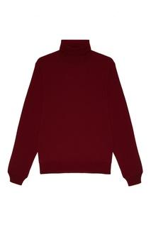 Красный свитер из шерсти Canali