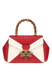 Кожаная сумка Queen Margaret Gucci