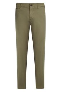 Хлопковые зеленые брюки Mana Napapijri